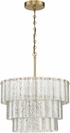 Craftmade 48690-SB Museo Satin Brass 30  Hanging Lamp