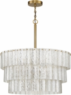 Craftmade 48696-SB Museo Satin Brass 24  Pendant Light Fixture