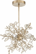 Craftmade 48794-GT Sigrid Contemporary Gold Twilight Pendant Lamp