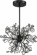 Craftmade 48794-MBK Sigrid Contemporary Matte Black 13  Hanging Pendant Lighting