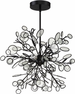 Craftmade 48795-MBK Sigrid Contemporary Matte Black 18  Pendant Hanging Light