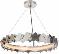 Craftmade 49390-PLN-LED Bangle Contemporary Polished Nickel LED Hanging Light