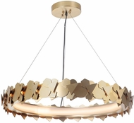 Craftmade 49390-SB-LED Bangle Modern Satin Brass LED Pendant Light Fixture
