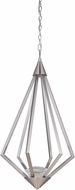 Craftmade 49790-BNK-LED Radiante Brushed Polished Nickel LED 15  Pendant Light Fixture