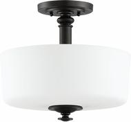 Craftmade 49853-ESP Dardyn Espresso Flush Mount Lighting