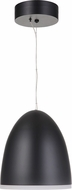 Craftmade 51191-FB-HUE Studio Contemporary Flat Black LED Mini Pendant Hanging Light