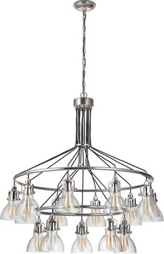 Craftmade 51215-PLN State House Modern Polished Nickel Hanging Chandelier