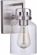 Craftmade 53601-BNK Foxwood Brushed Polished Nickel Wall Light Fixture