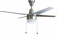 Craftmade CON48BNK4C1-48BN Connery Modern Brushed Polished Nickel LED 48 Home Ceiling Fan