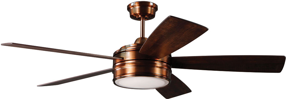 Craftmade brx52bcp5 braxton brushed copper led 52 residential craftmade brx52bcp5 braxton brushed copper led 52nbsp residential ceiling fan loading zoom aloadofball Image collections