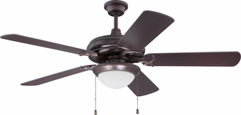 Craftmade CIU52OB5-LED Civic Unipack Oiled Bronze LED 52  Ceiling Fan
