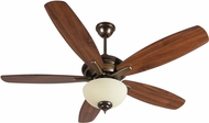 Craftmade CN52LB5 Copeland Legacy Brass Fluorescent Indoor 52  Home Ceiling Fan