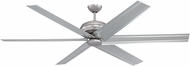 Craftmade COL96BN6 Colossus Contemporary Brushed Satin Nickel 96 Ceiling Fan