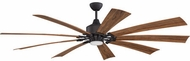 Craftmade EAS60ESP9 Eastwood Contemporary Espresso LED 60  Home Ceiling Fan