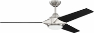 Craftmade ECH54BNK3 Echelon Contemporary Brushed Polished Nickel LED 54 Home Ceiling Fan