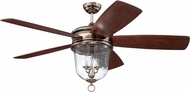 Craftmade FB60TS5 Fredericksburg Tarnished Silver Indoor 60  Ceiling Fan