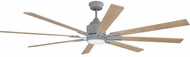 Craftmade FLE70AGV8 Fleming Contemporary Aged Galvanized LED 70  Home Ceiling Fan
