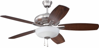 Craftmade FZA52BNK5C1 Forza Brushed Polished Nickel Indoor 52  Home Ceiling Fan