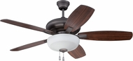 Craftmade FZA52ESP5C1 Forza Espresso Indoor 52  Ceiling Fan