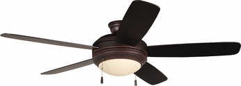 Craftmade HE52OBG5-LED Helios Oiled Bronze Gilded LED 52 Home Ceiling Fan