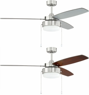 Craftmade INT52BNK3 Intrepid Brushed Polished Nickel Ceiling Fan