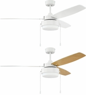 Craftmade INT52W3 Intrepid White Ceiling Fan