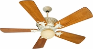 Craftmade K10247 Pavilion Antique White Distressed Indoor / Outdoor 54 Home Ceiling Fan
