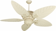 Craftmade K10248 Pavilion Antique White Distressed Indoor / Outdoor 54 Ceiling Fan