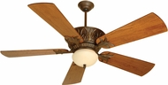 Craftmade K10272 Pavilion Aged Bronze Textured Indoor / Outdoor 54 Home Ceiling Fan