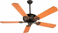 Craftmade K10437 Cecilia Oiled Bronze Gilded Indoor 52 Ceiling Fan