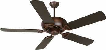 Craftmade K10519 Leeward Oiled Bronze Gilded Indoor / Outdoor 52  Home Ceiling Fan