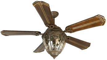 Craftmade K10523 Olivier Aged Bronze Textured Indoor / Outdoor 70  Home Ceiling Fan