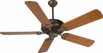 Craftmade K10601 American Tradition Aged Bronze Textured Indoor 52 Home Ceiling Fan