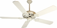 Craftmade K10615 Cecilia Antique White Distressed Indoor 52  Home Ceiling Fan