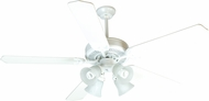 Craftmade K10632 Pro Builder 203 White Fluorescent Indoor 52  Home Ceiling Fan