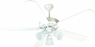 Craftmade K10638 Pro Builder 205 White Indoor 52  Home Ceiling Fan
