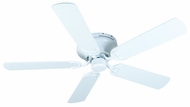 Craftmade K10687 Pro Contemporary Flushmount White Indoor 52  Home Ceiling Fan