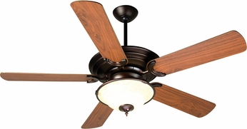Craftmade K10722 Metro Oiled Bronze Fluorescent Indoor 52  Ceiling Fan