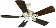 Craftmade K10726 Ophelia Antique White Distressed Indoor 54  Home Ceiling Fan