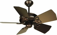 Craftmade K10741 Piccolo Oiled Bronze Indoor / Outdoor 30  Home Ceiling Fan