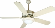 Craftmade K10787 American Tradition Antique White Fluorescent Indoor 52  Home Ceiling Fan