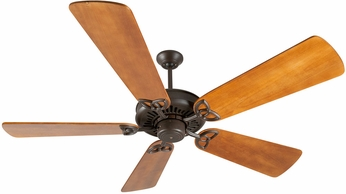 Craftmade K10815 American Tradition Aged Bronze Textured Indoor 54  Ceiling Fan