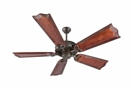 Craftmade K10818 American Tradition Aged Bronze Textured Indoor 56  Home Ceiling Fan