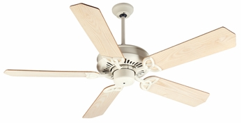 Craftmade K10819 American Tradition Antique White Indoor 52 Ceiling Fan