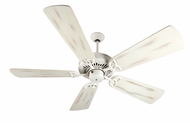 Craftmade K10822 American Tradition Antique White Indoor 54  Home Ceiling Fan