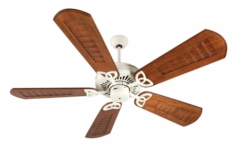 Craftmade K10823 American Tradition Antique White Indoor 56  Ceiling Fan