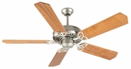 Craftmade K10824 American Tradition Brushed Satin Nickel Indoor 52  Home Ceiling Fan