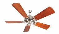 Craftmade K10828 American Tradition Brushed Satin Nickel Indoor 54  Ceiling Fan
