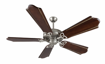 Craftmade K10831 American Tradition Brushed Satin Nickel Indoor 56 Home Ceiling Fan