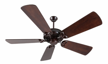 Craftmade K10836 American Tradition Oiled Bronze Indoor 54  Ceiling Fan